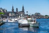 Elbe Riverside View of Dresden