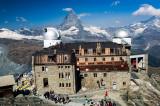 Matterhorn View from Gornergrat Observatory