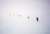 White-Out Skiing on the Kitzsteinhorn
