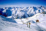 Skiing in Ischgl, Austria 1981
