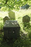 Tomb of the Westgarth Forster family. The original limestone slab was replaced in 1930.