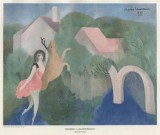 Marie Laurencin painting reproduced by Jan Gordon in Modern French Painters.