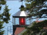 Cupola of Owl's Head Lighthouse