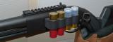 REMINGTON 870 12 GA. SHOTGUN  -  MAGPUL MODEL  -  SHOWING CUSTOM DETAILS