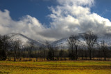 Winter Storm Clearing Cades Cove Peaks