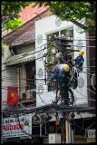 Vietnam - wire chaos Saigon 1