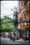 Vietnam - wire chaos Saigon 2