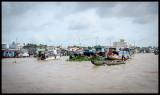 Cai Be floating market 1