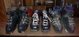 Anciennes chaussures de ski alpin vintage - 45/30/20 euros - 70 euros le tout