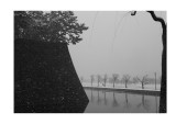 Tokyo Imperial Palace, snowy day