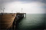 Peaceful Day On The Pier