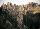 Needles Highway of Custer State Park