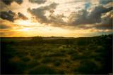 Desert Sunset Reflections