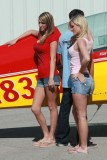 Fashion shoot at La Porte airport