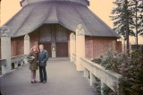1974 - Making arrangements at Lewis and Clark College Chapel for our wedding