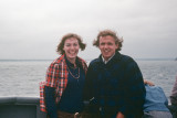1973 - First Photo of us together on the Ferry to Martha's Vineyard