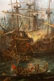 Musée de la marineBaston naval (détail)
