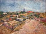 Van GoghJardins de Montmartre (1887)