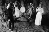 Dans la grotte de l'ile de Reuilly sur le lac Daumesnil