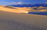 Ripples on dunes at Mesquite Flats.