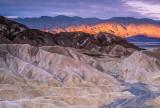Zabriskie Point Badlands, Death Valley National park, CA