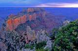 Woton's Throne, North Rim, Cape Royal, Grand Canyon National Park, AZ