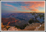 Sunrise OVer Isis Temple, Grand Canyon National Park, AZ
