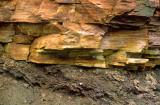 Nonconformity with Cambrian Potsdam Sandstone overlying Precambrian Geiss at Alexandria Bay, NY
