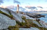 Peggys Cove Lighthouse, Nova Scotia