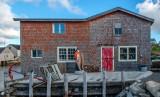 Fisherman's Shack, Peggys Cove, Nova Scotia