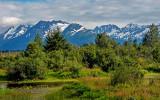 Chugach Range along Alaska Railwlay