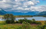 Stream along the Alaska Railway near Whittier, AK