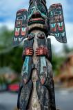 Totem in Ketchican, AK