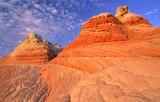 Buttes in White Pocket, Vermilion Cliffs National Monument, AZ