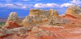 Contorted rocks, White Pocket,  Vermilion Cliffs National Monument, AZAZ