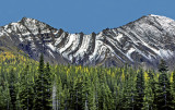 (SG7) Anticlinal and synclinal folds in Canadian Rockies, Peter Lougheed Provincial Park, Alberta Canada