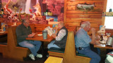 Friday lunch at Texas Roadhouse, Tucson