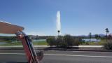 The famous fountain of Fountain Hills, AZ