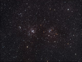 Double Cluster with red background removed