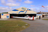 Airfield hangar