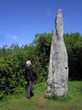 Menhir de Clavezic