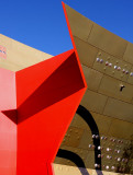 Canberra - Red Point - Detail of National Museum - Acton Area