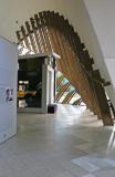 Part of the Foyer of the National Museum of Australia