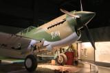 P40 Kittyhawk in Aircraft Hall - Australian War Memorial