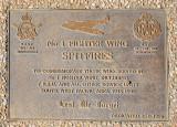 Plaque in the Grounds of the Australian War Memorial