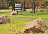 Sign for Manuka Arts Centre