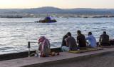 An Evening on the Beach -J