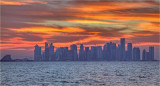 Doha Evening Sky