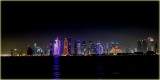 Doha Night Sky