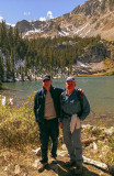 Aaron and Dad at American Lake